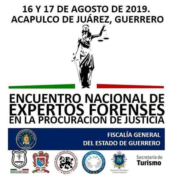 14. ENCUENTRO NACIONAL DE EXPERTOS FORENSES